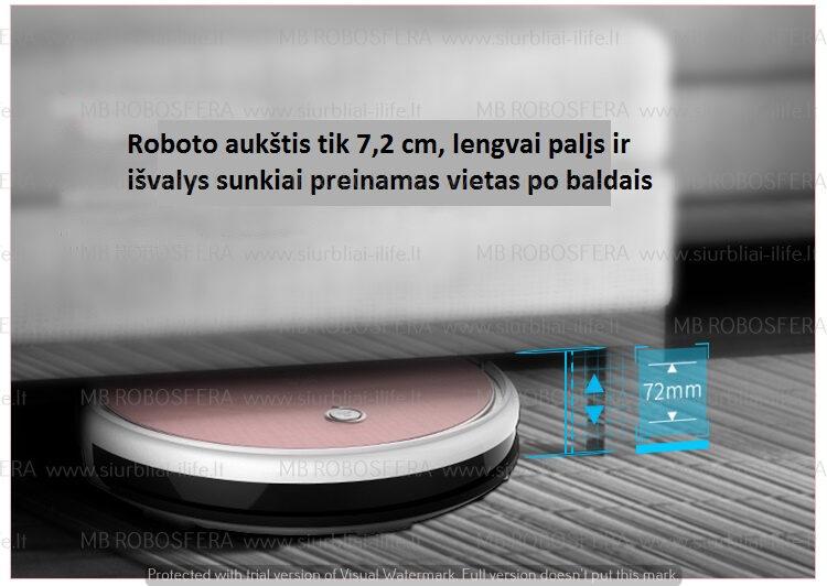 Dulkių siurblys robotas ILIFE X620