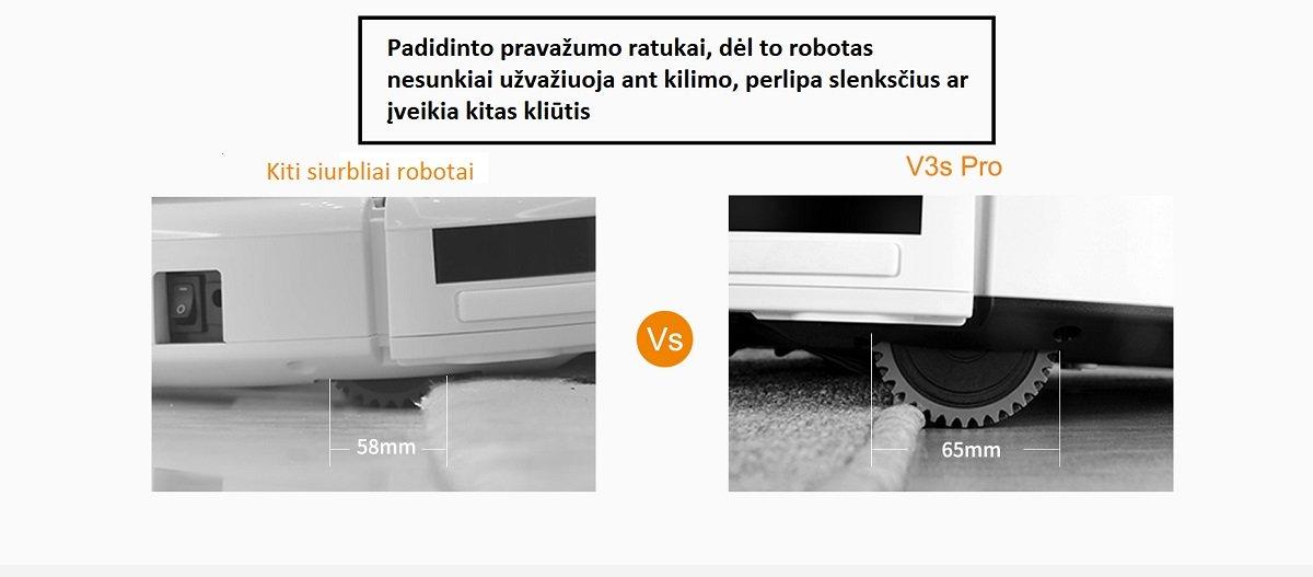 Dulkių siurblys robotas ILIFE V3s PRO