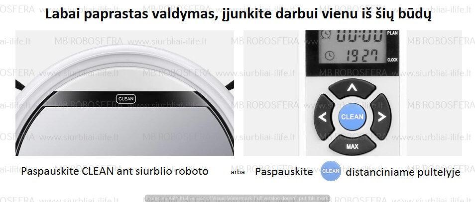 Dulkių siurblys robotas ILIFE V60 PRO
