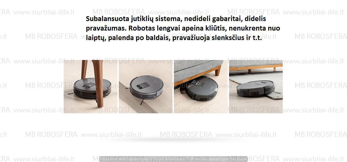 Dulkių siurblys robotas ILIFE X750