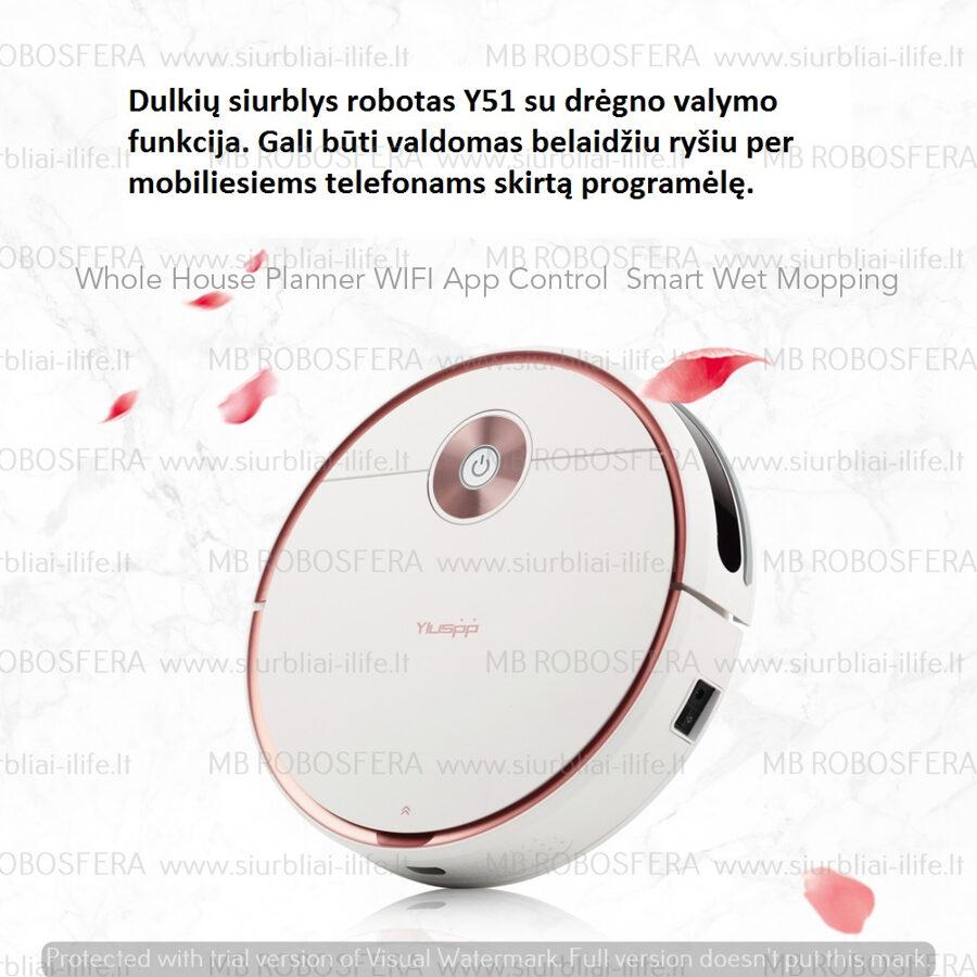 Dulkių siurblys robotas YLUSP Y51